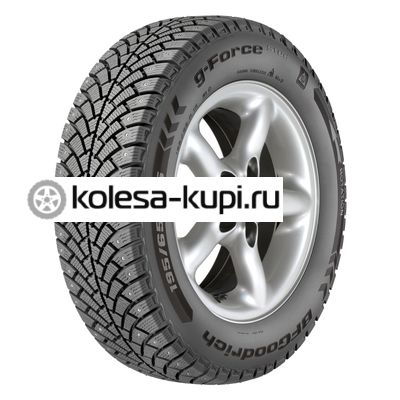 BFGoodrich 195/55R15 89Q XL G-Force Stud TL (шип.) Шина