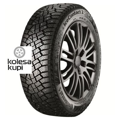 Continental 255/40R19 100T XL IceContact 2 ContiSilent TL FR KD (шип.) Шина