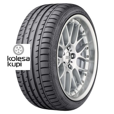 Continental 235/45R17 94W ContiSportContact 3 MO TL FR ML Шина